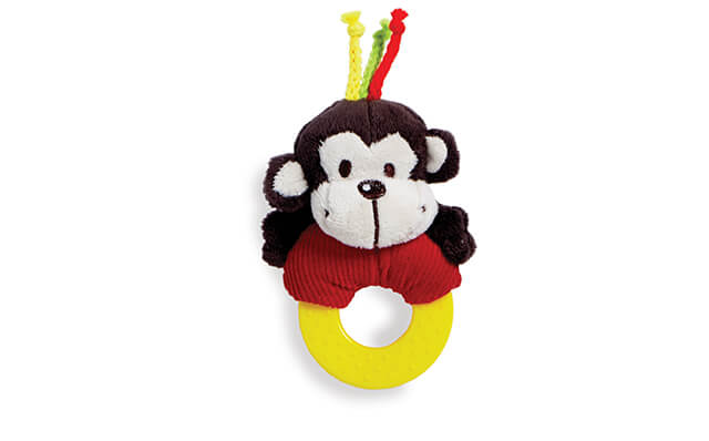 Soft Pal - Monkey Teether
